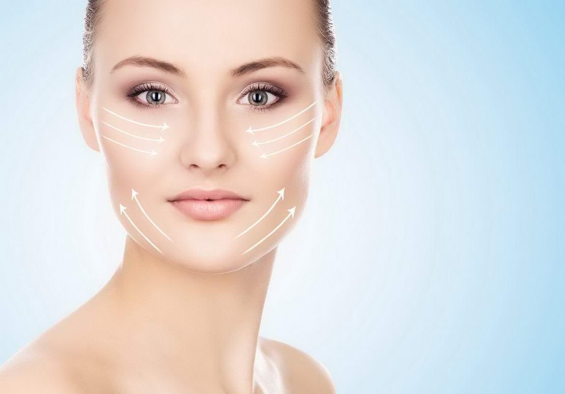 Mezoniti - zatezanje kože
